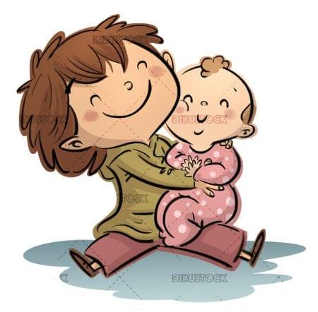 Child and baby
