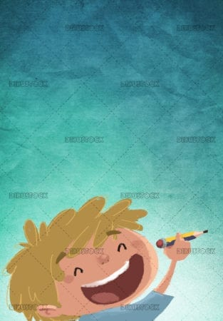 Child drawing texture background