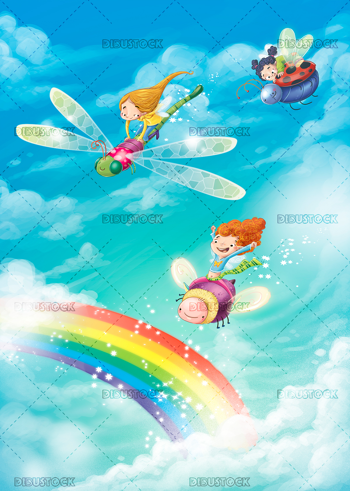 Fairies and rainbows