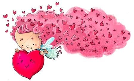 Fairy of hearts