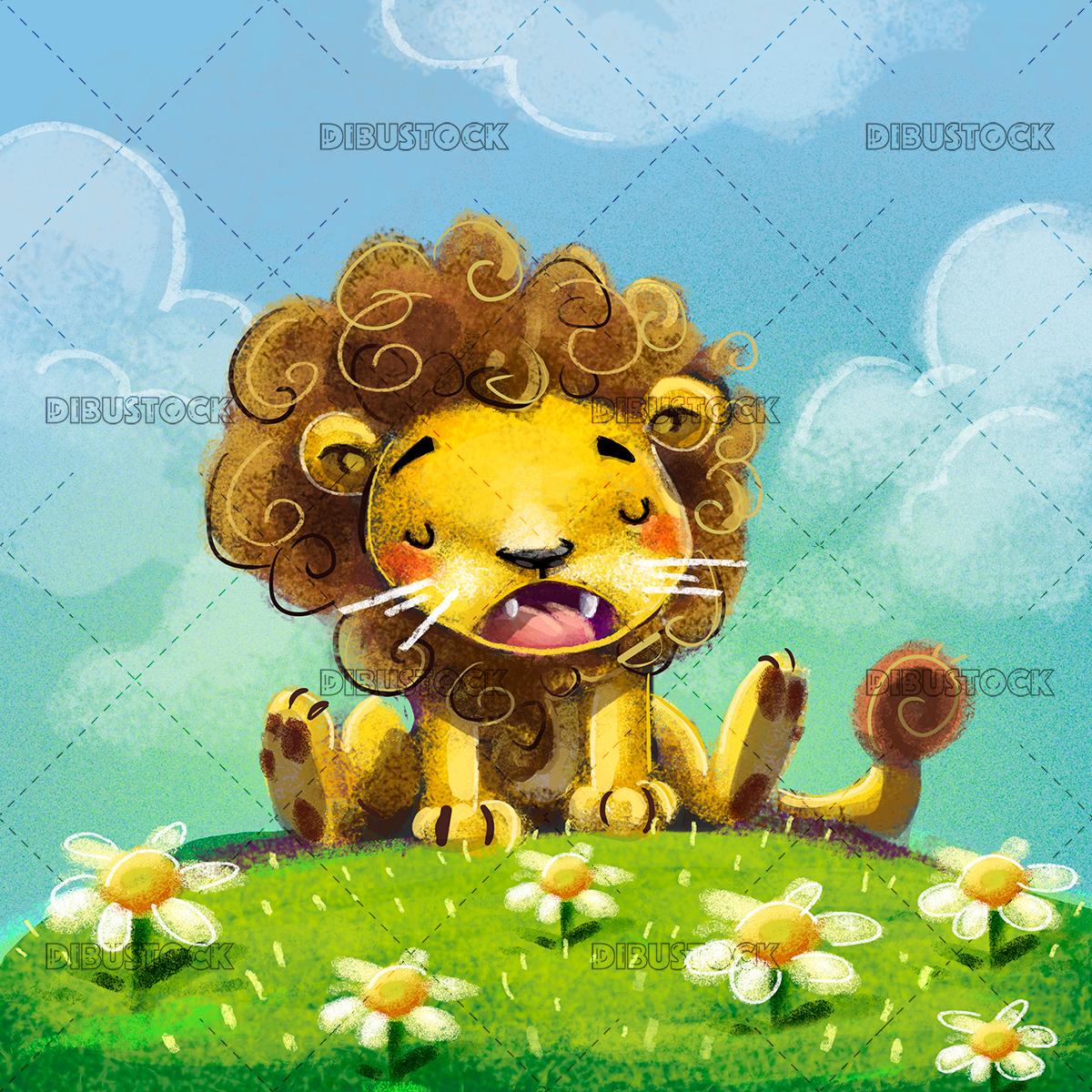 Lion for children