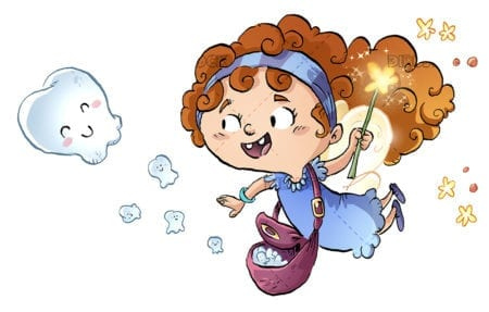 Tooth Fairy flying