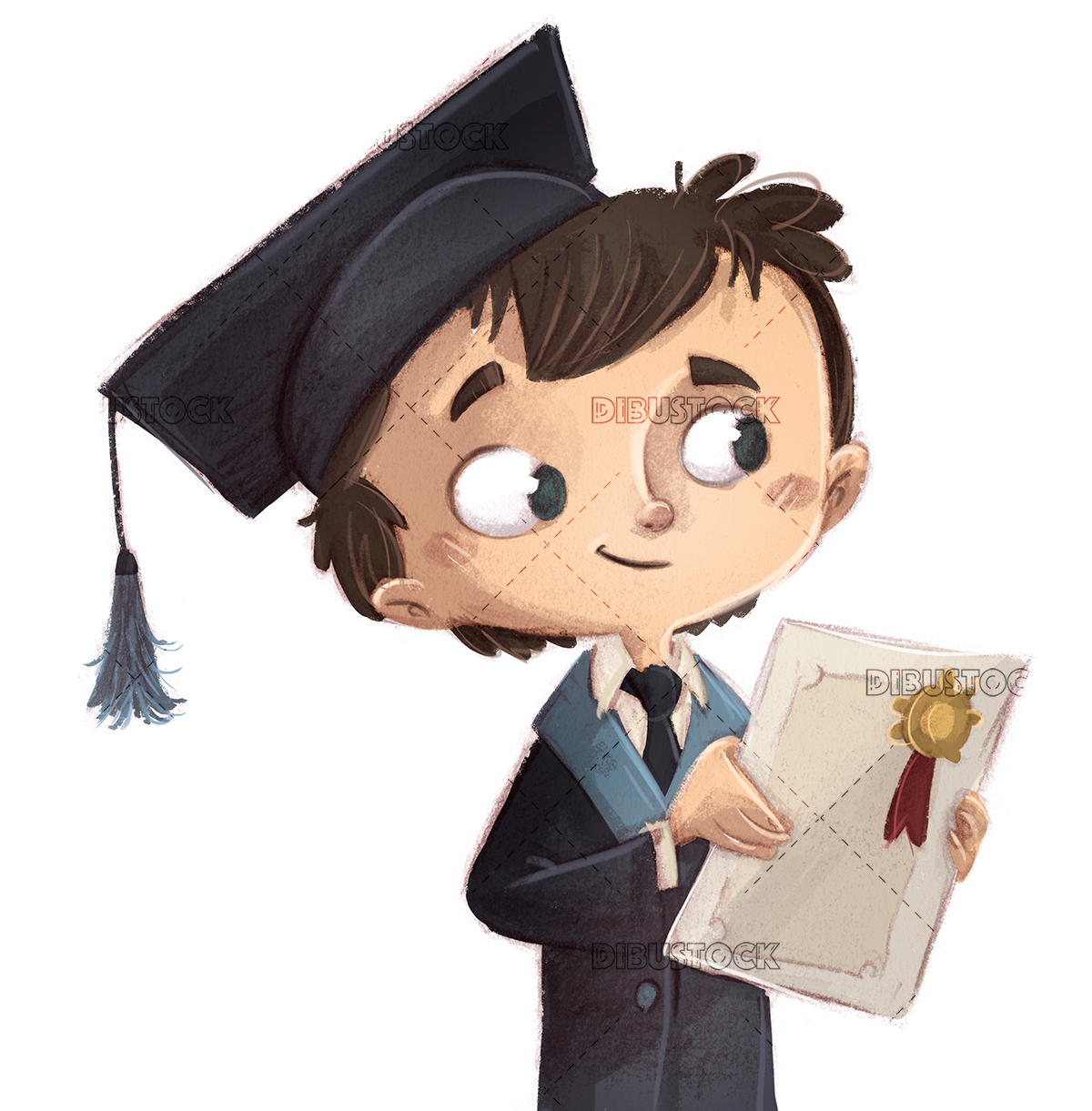 graduate cute boy