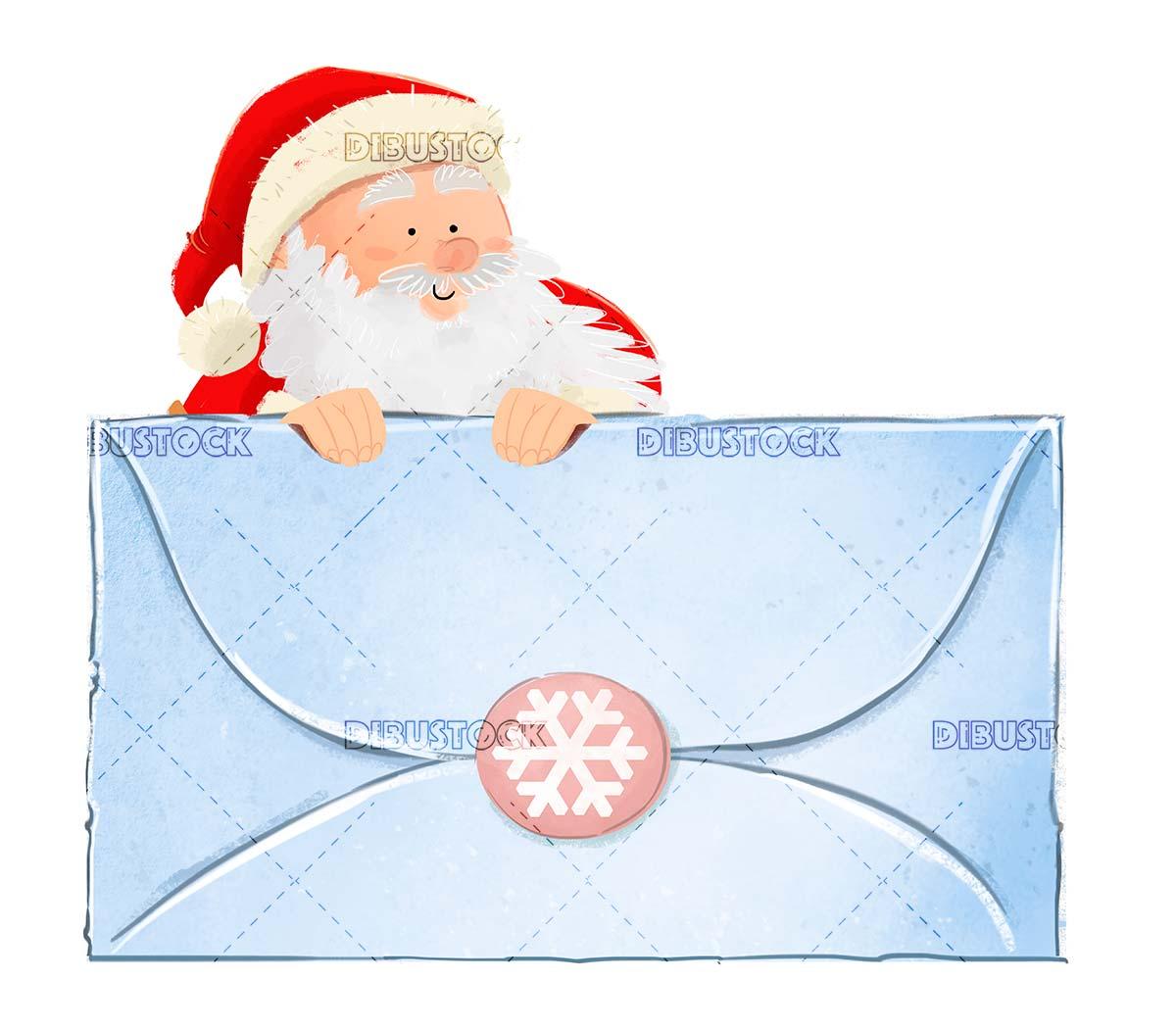 About Santa Claus at Christmas