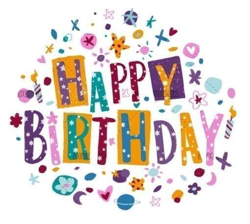 Birthday congratulation