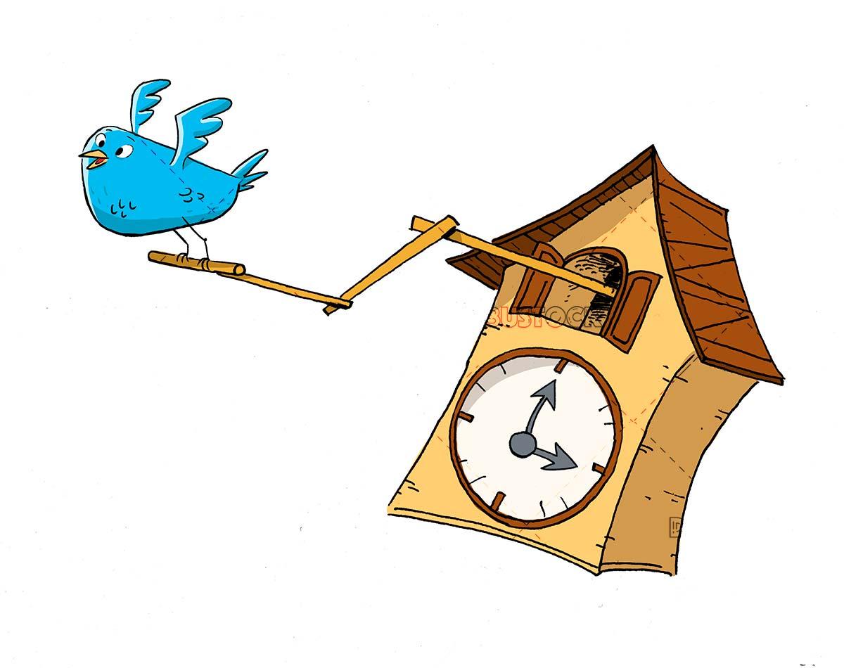 Cuckoo clock. Wall Clock. Cuckoo