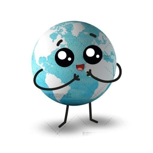 Happy Earth Planet