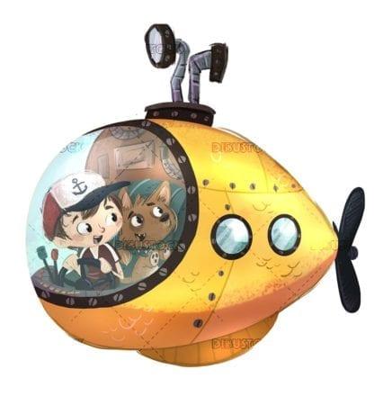 submarino niños