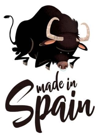 toro negro made in Spain
