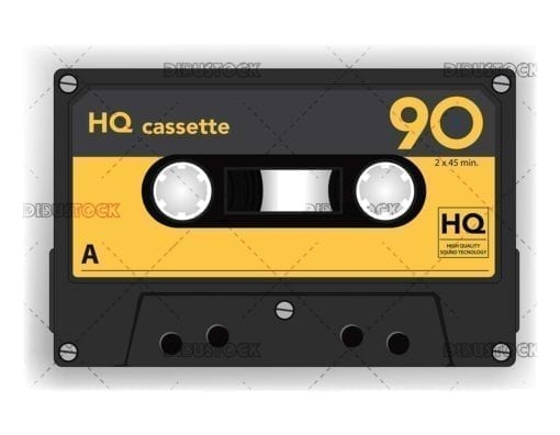 Cassette audio cinta analogica