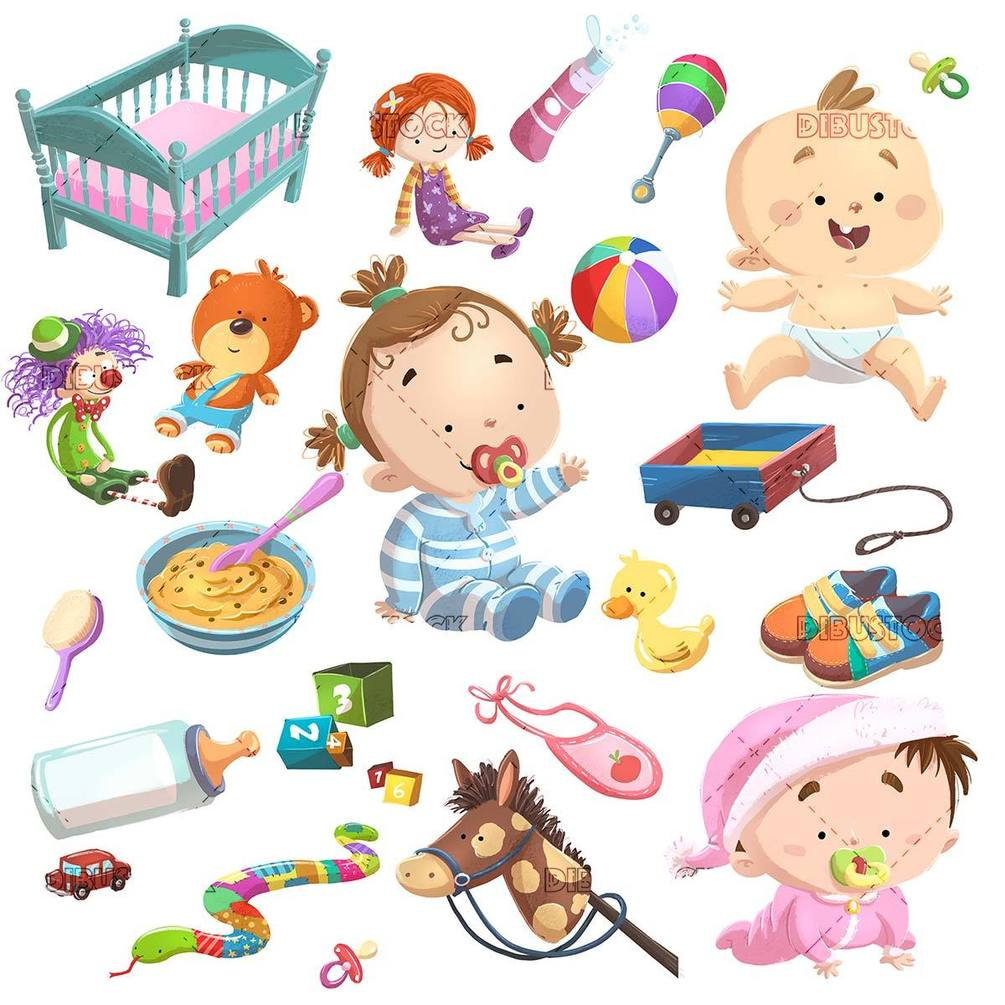 illustration of baby concepts