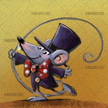 mouse in the circus