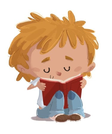 naughty 20boy 20sitting 20reading 20a 20book 20on 20isolated 20background