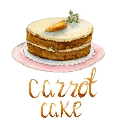 carrot cake for cooking recipe