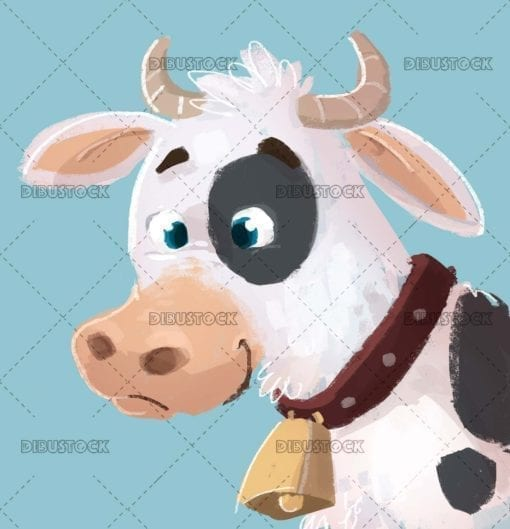 Nice cow face