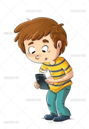 Mobile addicted child 1