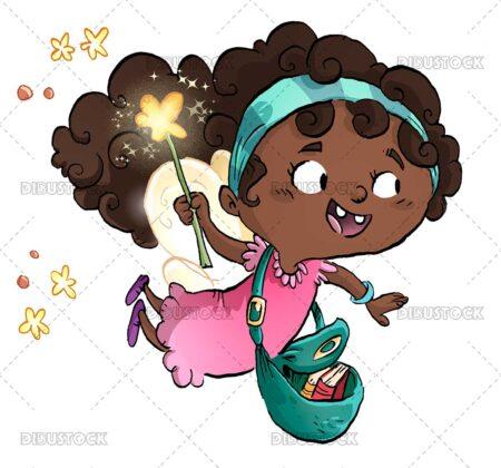 African American Magic Fairy