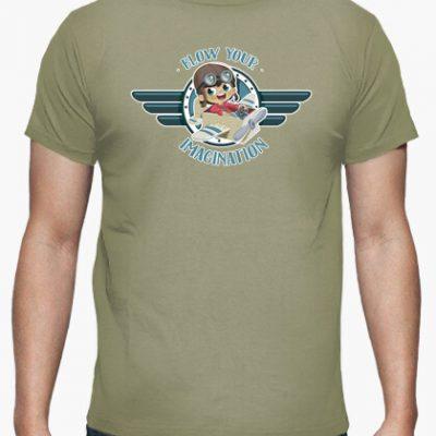 camiseta deja volar tu imaginacion i 135623257534701356232017092628