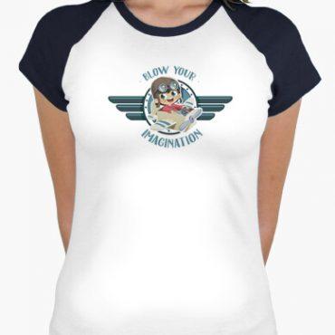 camiseta deja volar tu imaginacion i 13562325753540135623101