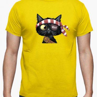 camiseta pirate black cat i 135623312932401356232017092615