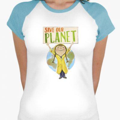 camiseta save our planet i 13562333942270135623104