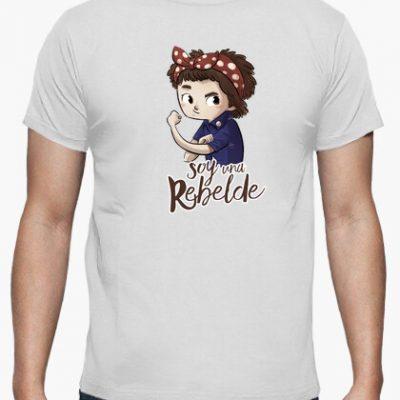 camiseta soy una rebelde i 13562320632540135623201709265