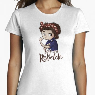 camiseta soy una rebelde i 1356232063257013562397